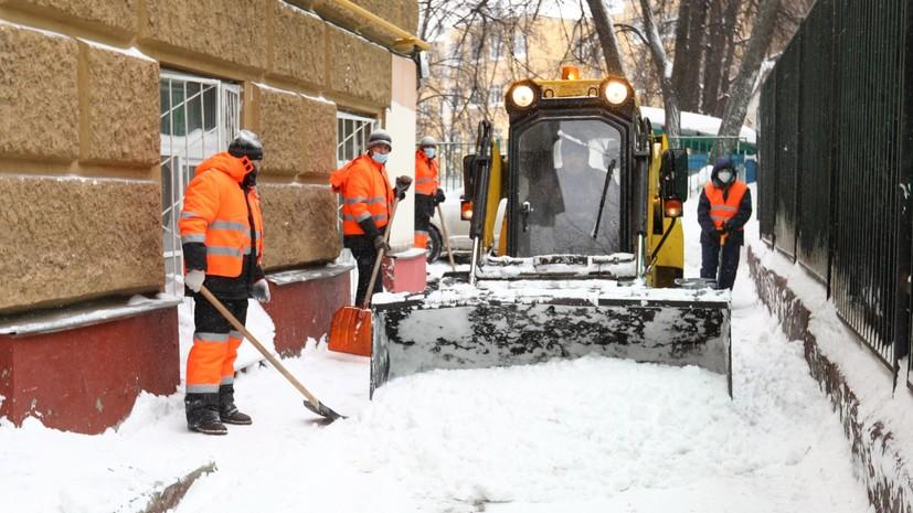 Минтранс Подмосковья рассказал о работе коммунальных служб