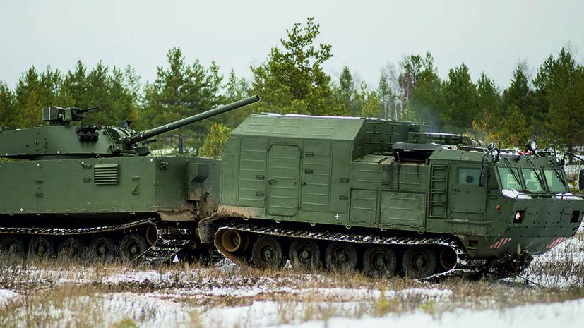 «Уникальная установка»: на что будет способна российская арктическая артиллерийская самоходка «Магнолия»
