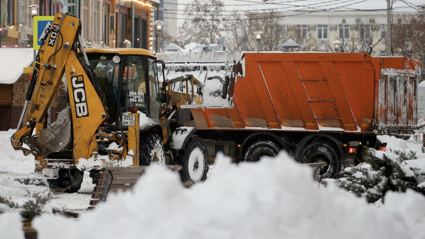 Синоптик спрогнозировал окончание снегопада в Москве к полуночи