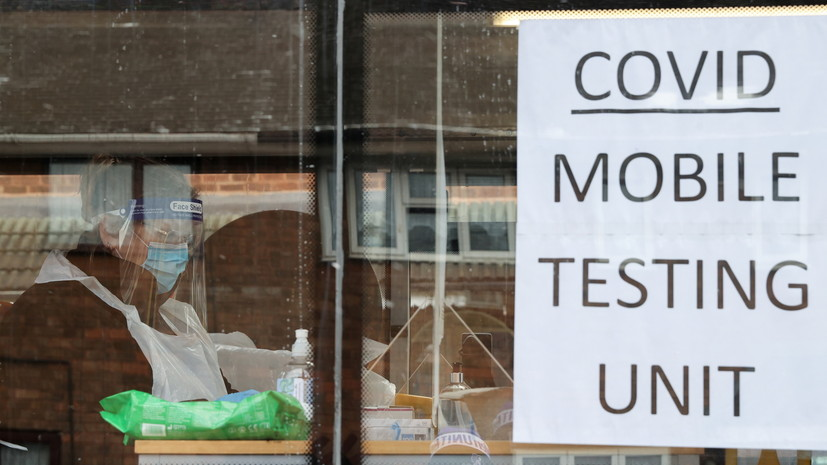 За сутки в Британии выявляют более 13 тысяч случаев коронавируса
