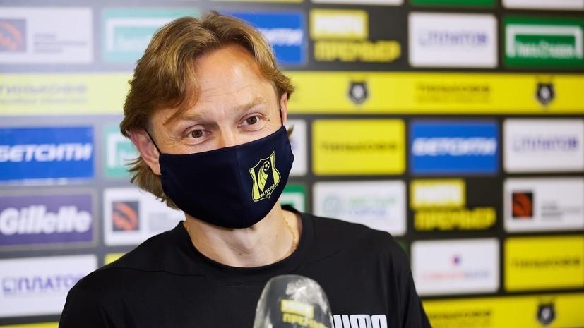Карпин считает, что у российских футболистов слишком высокая зарплата