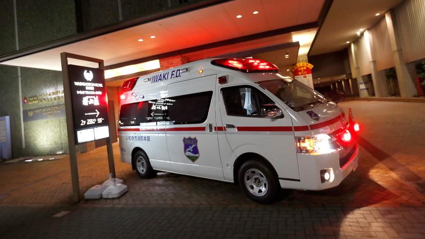 Число пострадавших при землетрясении в Японии возросло до 50