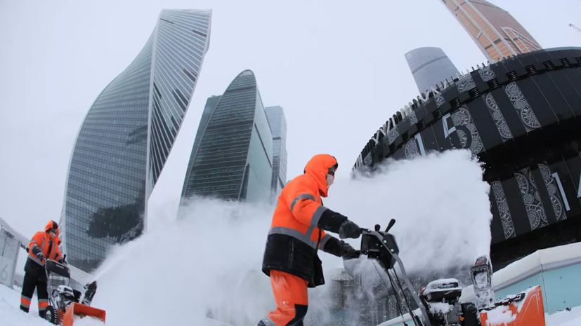Синоптик назвал уровень снежного покрова в Москве