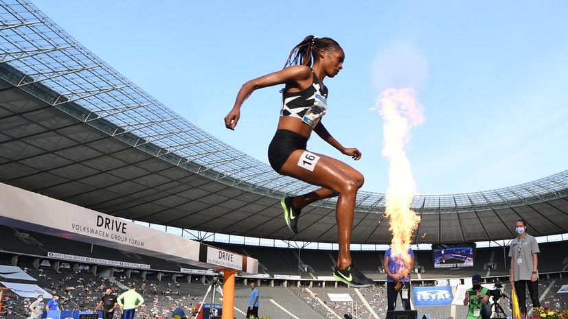 Бегунья Чепкоеч установила мировой рекорд на дистанции 5000 м