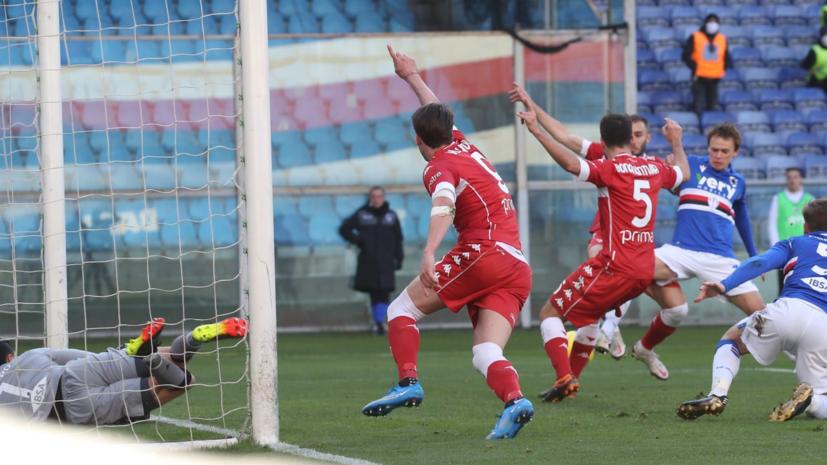 «Фиорентина» проиграла «Сампдории» в Серии А, Кокорин провёл матч в запасе