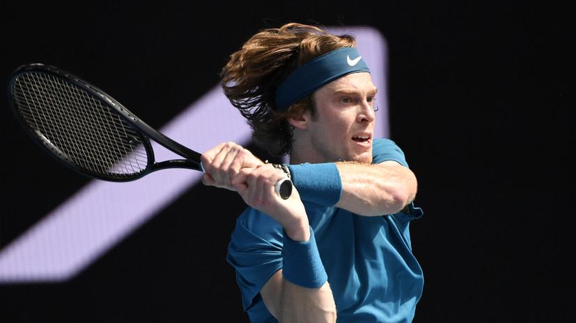Медведев и Рублёв сыграют в четвертьфинале Australian Open