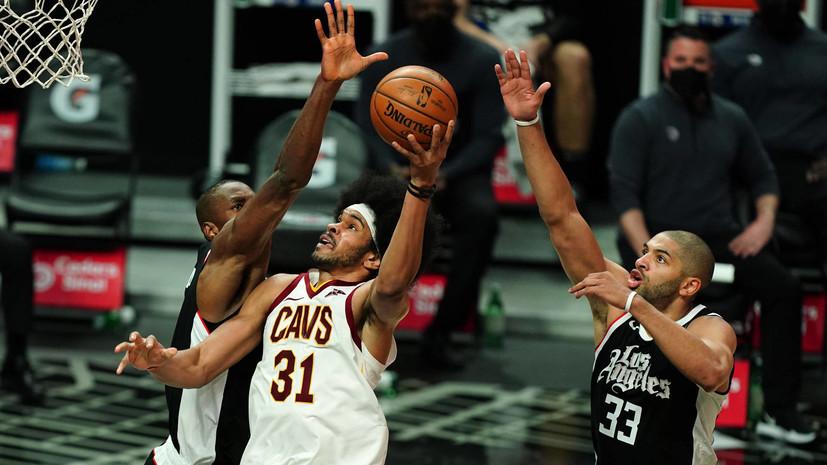 «Клипперс» победил «Кливленд» в матче НБА