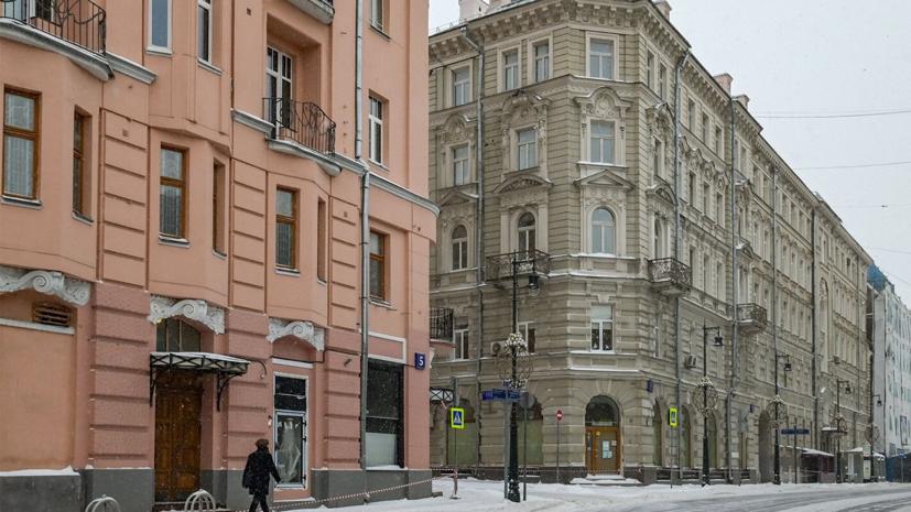 В центре Москвы отремонтируют дом Варваринского акционерного общества