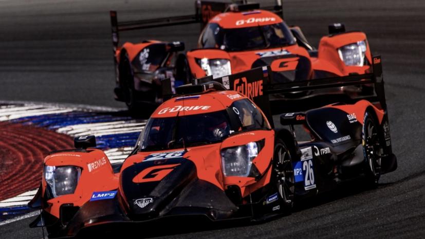 Российская команда G-Drive Racing заняла первые два места на втором этапе ALMS в Дубае