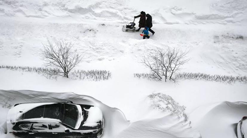 В Петербурге рассказали о ходе работ по уборке снега с улиц