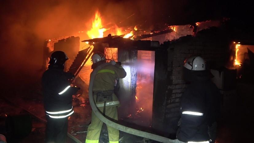 Возгорание на газораспределительном узле в ЛНР ликвидировано