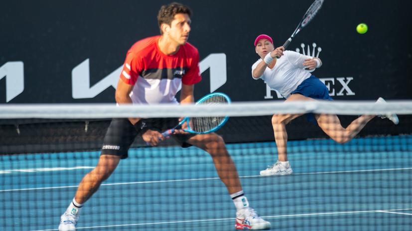 Звонарёва и Мело проиграли во втором круге Australian Open в миксте