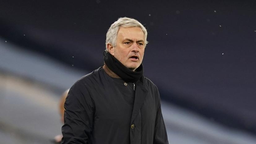 Моуринью назван лучшим тренером XXI века по версии IFFHS