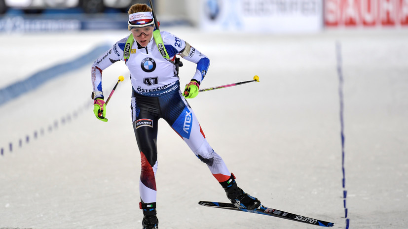 Миронова стала пятой в индивидуальной гонке на ЧМ по биатлону