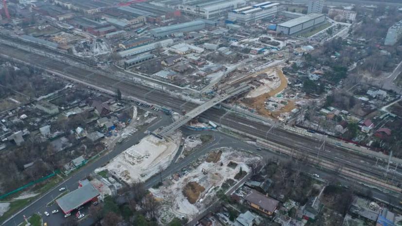 Строительство путепровода в Мытищах планируют завершить в 2021 году