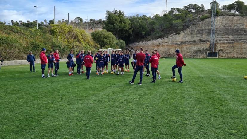 ЦСКА проведёт два товарищеских матча с испанскими клубами