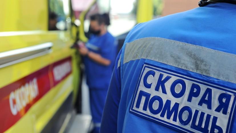 Из-за пожара в пятиэтажном здании в Сочи госпитализированы два человека
