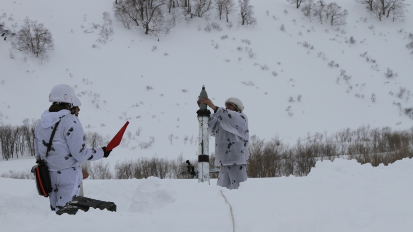 Лавинная опасность объявлена на Камчатке из-за циклона