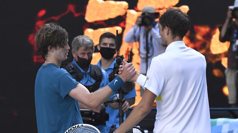 Тарпищев не считает, что победа над Рублёвым была лёгкой для Медведева