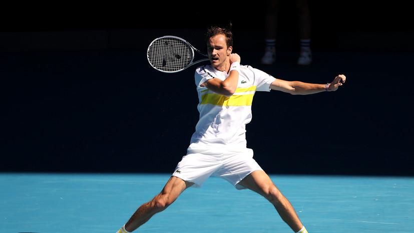 Медведев войдёт в топ-3 рейтинга ATP после Australian Open