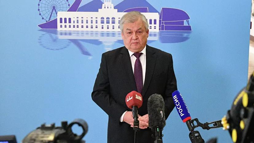 Лаврентьев заявил о подготовке новых провокаций с химвеществами в САР