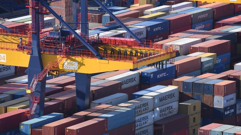 Торговый рубеж: в 2020 году Россия обновила рекорд по экспорту несырьевых товаров