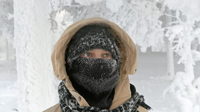 В Ульяновской области предупредили о морозах до -36 °С