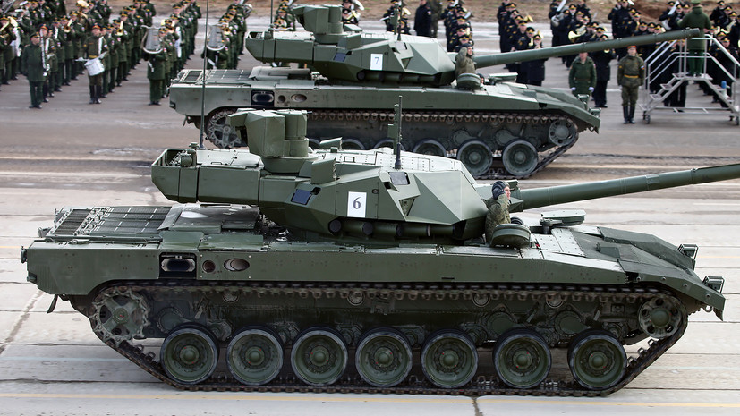 «Прорыв в современном танкостроении»: как Россия готовится продвигать танк Т-14 «Армата» на мировом рынке0