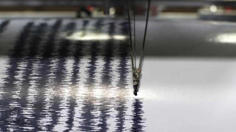 Землетрясение магнитудой 5,4 произошло в Иране