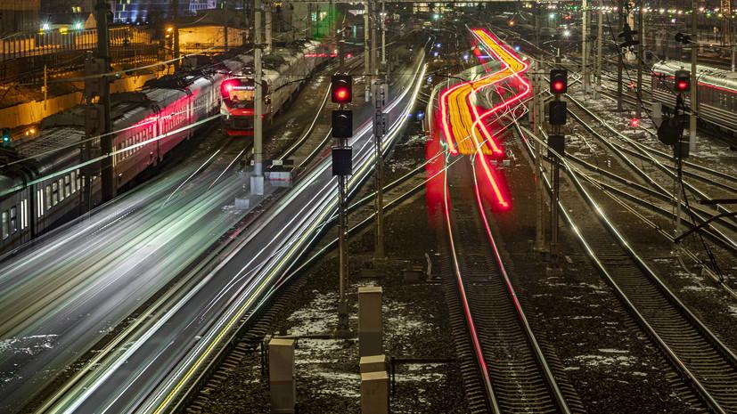 В Красноярском крае открыли движение поездов в районе схода вагонов