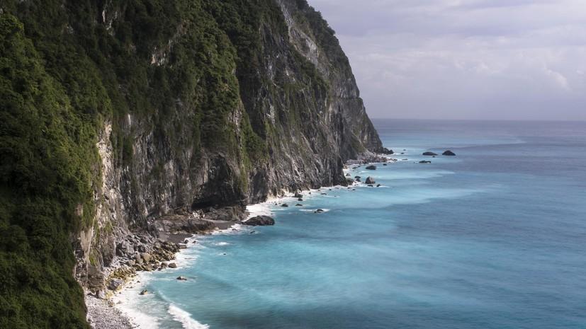 Землетрясение магнитудой 5,2 произошло упобережья Тайваня