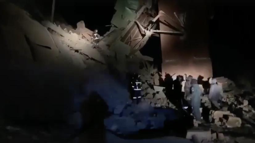 В Норильске обрушилась часть здания горно-обогатительной фабрики