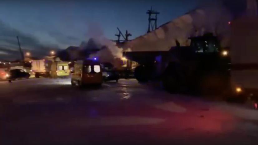 Найдено вероятное место нахождения пострадавших на фабрике в Норильске