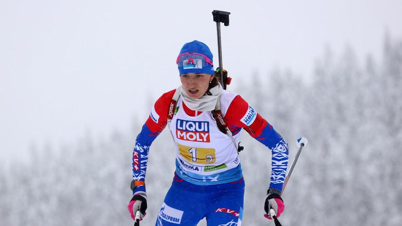 Повторение антирекорда: российские биатлонистки стали 11-ми в эстафете на ЧМ в Поклюке