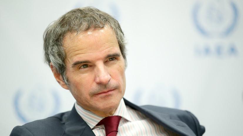 Гендиректор МАГАТЭ вылетел в Иран