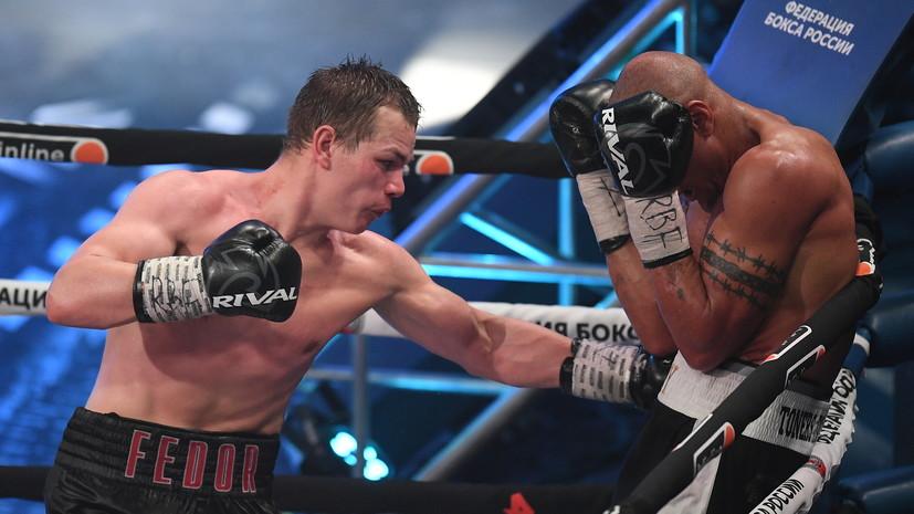 Спорная ничья Чудинова, эффектный нокаут Дацика и первый успех Кокляева: чем завершился вечер бокса «Короли ринга»