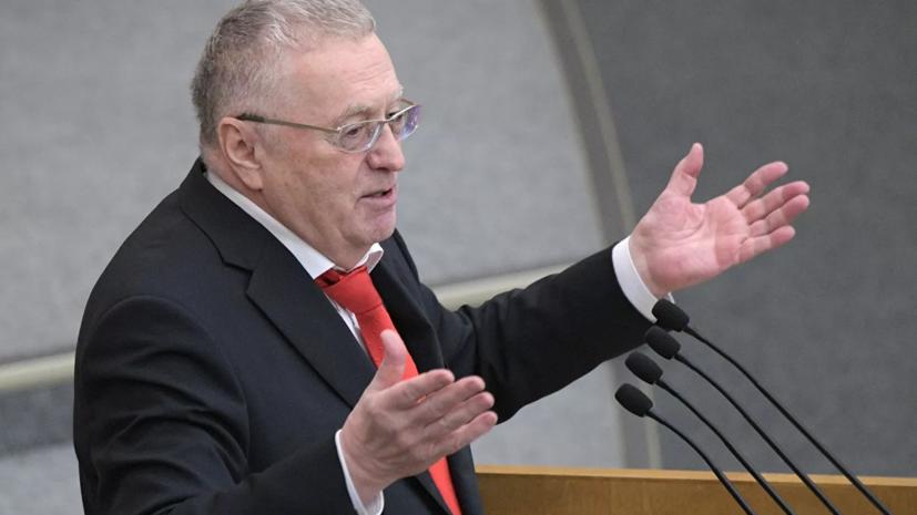Жириновский предложил ввести в России ограничения по весу