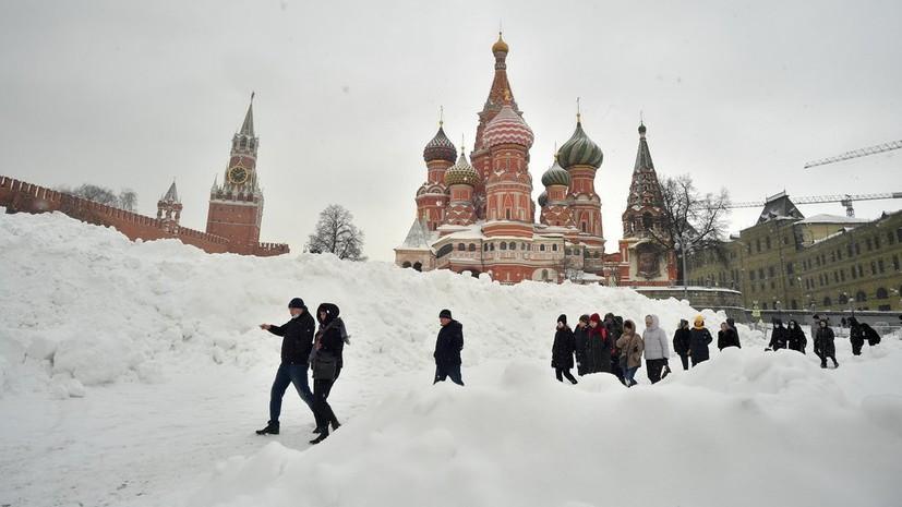 Синоптик рассказал о выпавших в Москве осадках