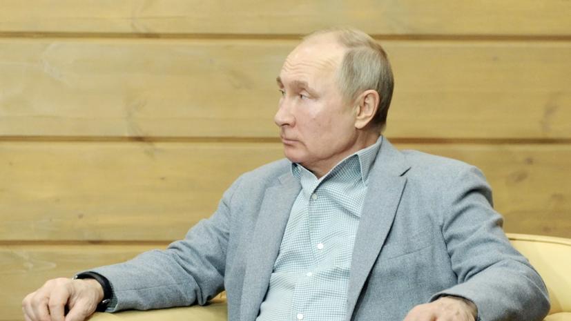 Путин заявил о важности сотрудничества регионов России и Белоруссии