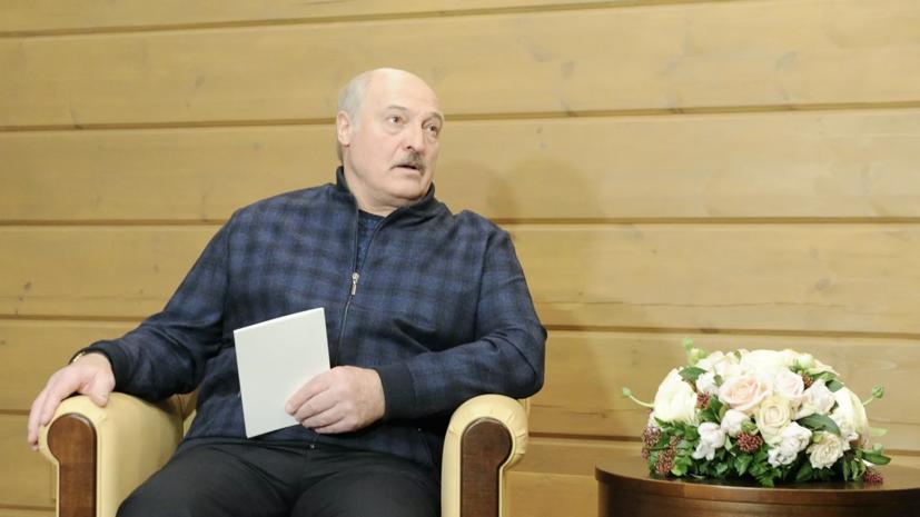 Лукашенко поблагодарил Путина за помощь экономике Белоруссии