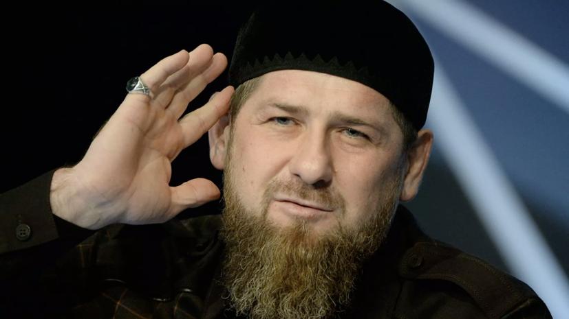 Кадыров прокомментировал фотографию с украинским вице-премьером