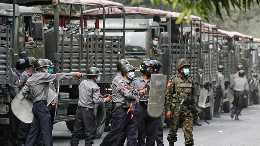США ввели санкции против двух военных в Мьянме