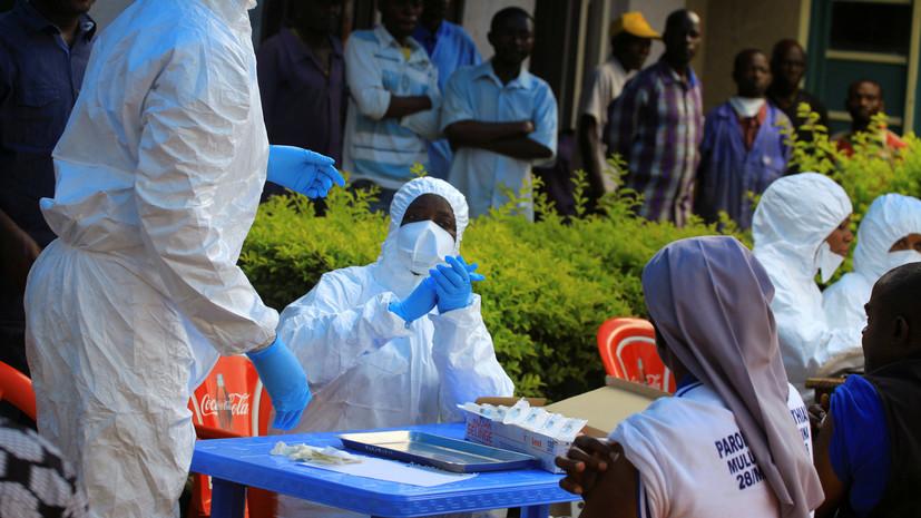 В Гвинее начата вакцинация от лихорадки Эбола