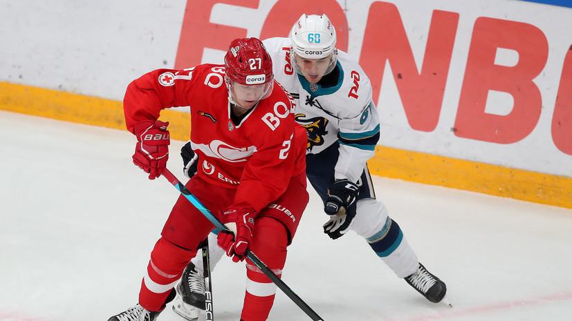 «Спартак» разгромил «Сочи» в матче КХЛ