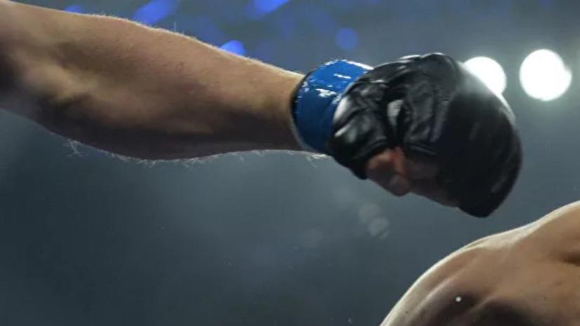 Корешков победил Родригеса в первом раунде на турнире AMC Fight Nights в Сочи