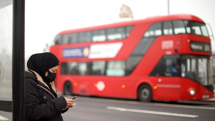 В Британии за сутки зафиксировали 8489 случаев коронавируса