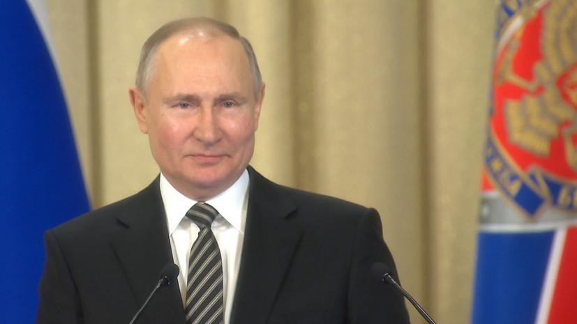 «Попытки поставить под сомнение наши достижения»: Путин заявил о готовящихся провокациях против России