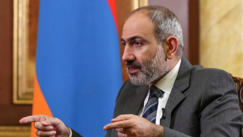 Пашинян заявил о планах выступить на площади в центре Еревана