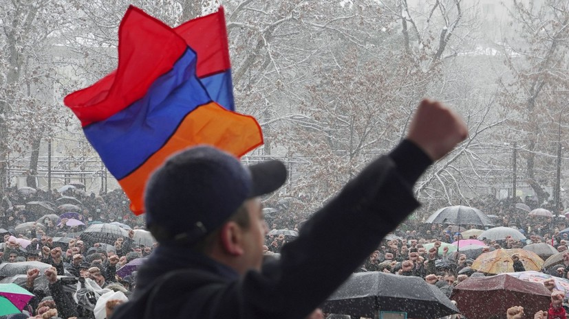 СНБ Армении призвала воздержаться от угрожающих нацбезопасности действий