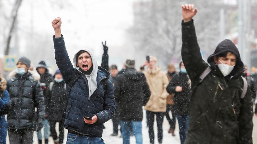 В России предложили лишать регистрации НКО-иноагентов за организацию незаконных акций